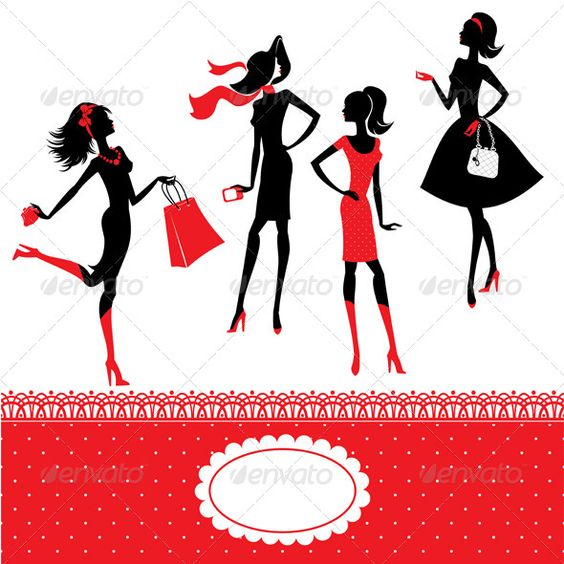 Set of Silhouettes of Fashionable Girls on a White  #GraphicRiver         Set of silhouettes of fashionable girls on a white background. This image is a vector illustration and can be scaled to any size without loss of resolution. All parts of the image are editable.     Created: 27March13 GraphicsFilesIncluded: VectorEPS Layered: No MinimumAdobeCSVersion: CS Tags: accessories #adult #beautiful #beauty #black #cartoon #clothes #clothing #design #dress #fashion #fashionable #female #gift…