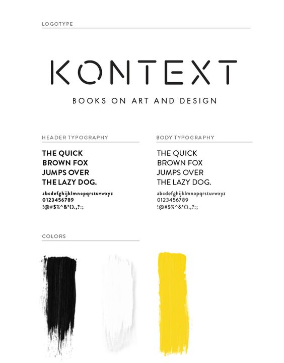 KONTEXT - Books on art and design on Behance