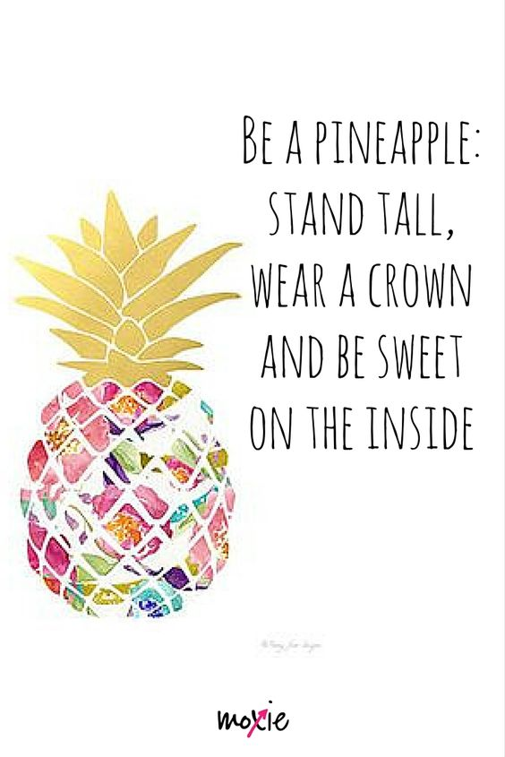 Did you know it takes a pineapple over 2 years to mature fully? Kind of like a fitness journey. It doesn't happen overnight.It takes growth and inner strength to be that pineapple. https://www.facebook.com/moxiefitnessapparel: