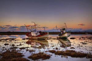 Sleeping boats II by Chris-Lamprianidis