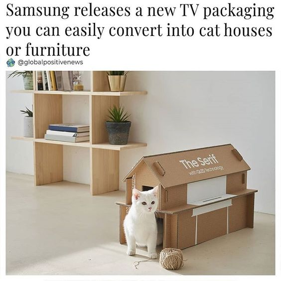 An idea inspired by kids under the age of 10, has made Samsung come forth with new TV packaging. Manufactured from 'eco-friendly corrugated…