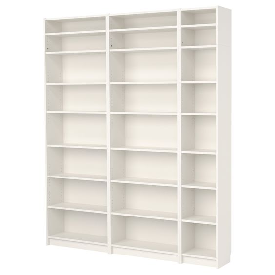 Ikea Billy Extension Door : BILLY Bookcase with height extension unit  IKEA adjustable shelves 78