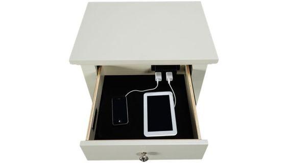 Aspen - Cambridge - 1 Drawer Nightstand - Jordan's Furniture