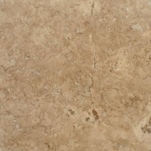MS International Walnut Blend 18 In. x 18 In. Honed Travertine Floor and Wall Tile (9 sq. ft. / case)-THDWALNUT1818HF at The Home Depot
