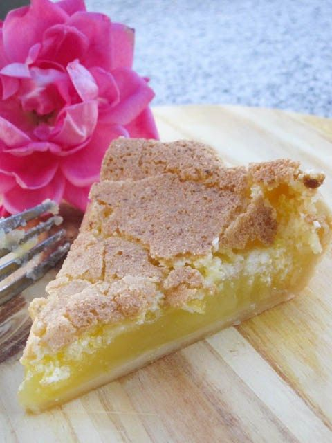 Lemon chess pie, Chess pie and Chess on Pinterest