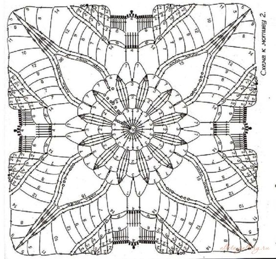 Gallery.ru / Foto # 74 - Square motivos diferentes - Alleta