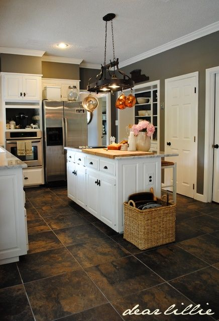 Pictures Of Kitchens With White Cabinets And Gray Walls - Sarkem.net