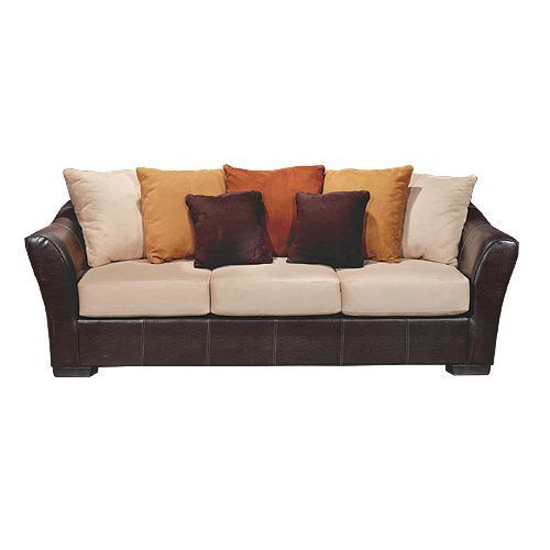 Tribecca 94 two tone microfiber sofa rc willey home for Sofa quotes