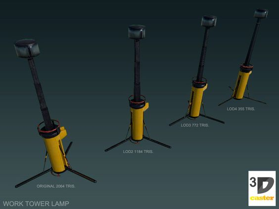 Work Tower Lamp Ad 3d Tower Work Lamp Industrial