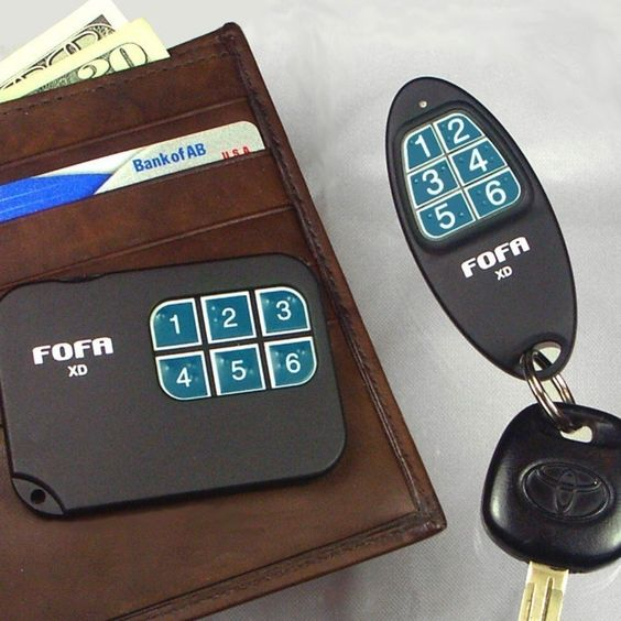 Tired of looking for your keys? Once FOFA® (foh-fah) Key Finders are attached to your keys and other easy-to-lose things, they can all find, and be found, by each other!
