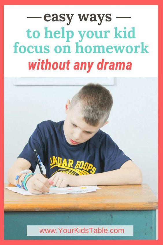 A Parent S Guide How To Focus On Homework Without Any Rama Kids Focus Parenting Guide Homework