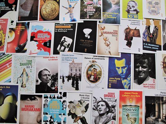 Cartes spéciales anniversaire des 50 ans de 10-18
