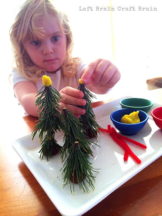 1-Learn about liquids with Snowy Christmas Tree Science. (Left Brain Craft Brain)