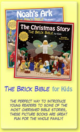 The Brick Bible for Kids - for all my Lego loving friends :)