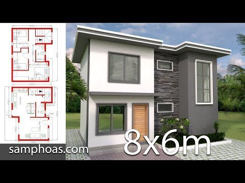 Modern House Plans 13x14m And 19x14m 1 Home Design Plan 13x14m With 4 Bedrooms 2 Home Design Plan 19x14 Architectural House Plans 3d Home Design House Plans