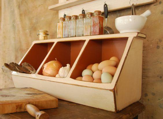 Expedited Storage Kitchen Storage Boxes Primitive Rustic