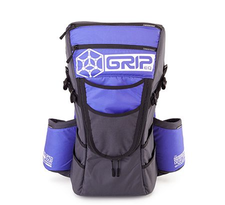 C14   Grip Equipment next bag  Purple Grip Disc Golf Bag