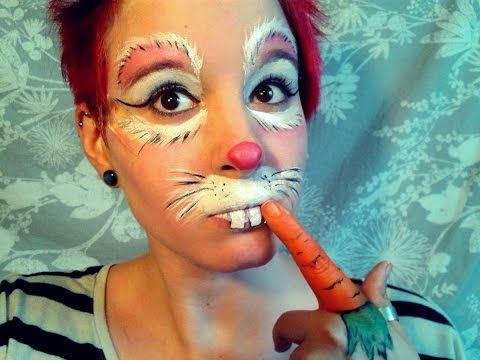 Rabbit Makeup Tutorial - YouTube