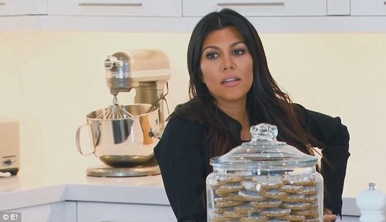 Not impressed: Kourtney, 35, wasn't buying her sister's argument and told her she didn't w...