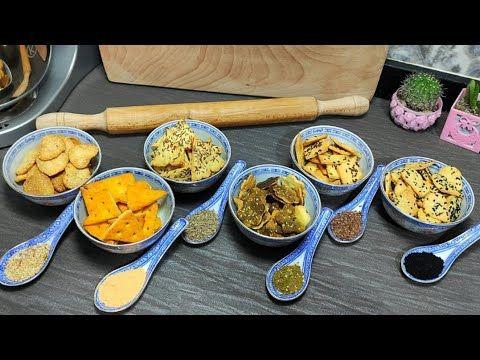 مقرمشات الجبنة ب 6 أطعمة مختلفة وكل ده من حبة دقيق وقطعة جبنة Youtube Food
