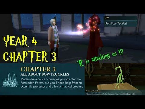 Harry Potter Hogwarts Mystery Year 4 Chapter 3 All About Bowtruckles Gameplay Youtube Hogwarts Mystery Hogwarts Chapter