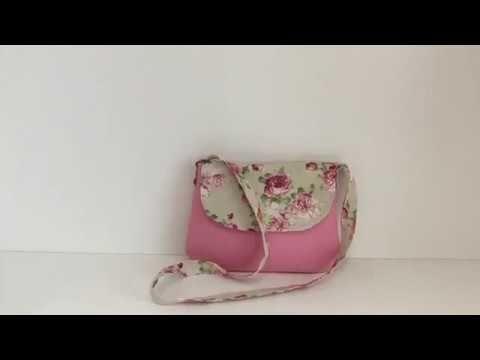 Tuto facile coudre un petit sac à bandoulière Couture