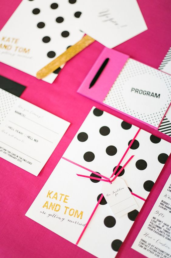 kate spade wedding invitations polka dot wedding invites photo by anneli marinovich 5291