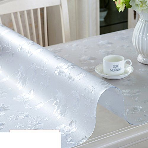 Tablecloth Pvc Table Cloth Waterproof Oil Proof Soft Glass