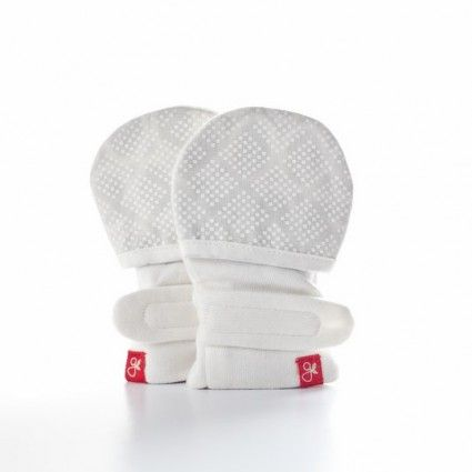 Adorable stylish and soft baby mittens.
