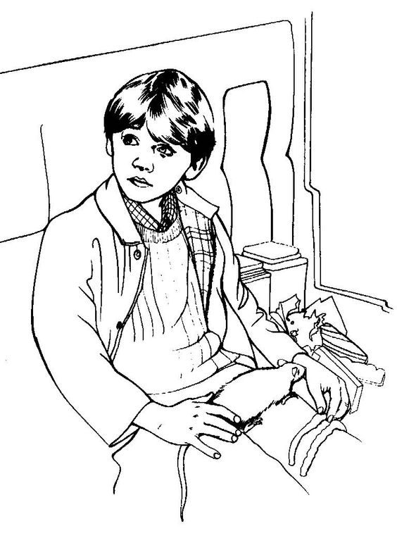 Harry Potter Coloring Page Harry