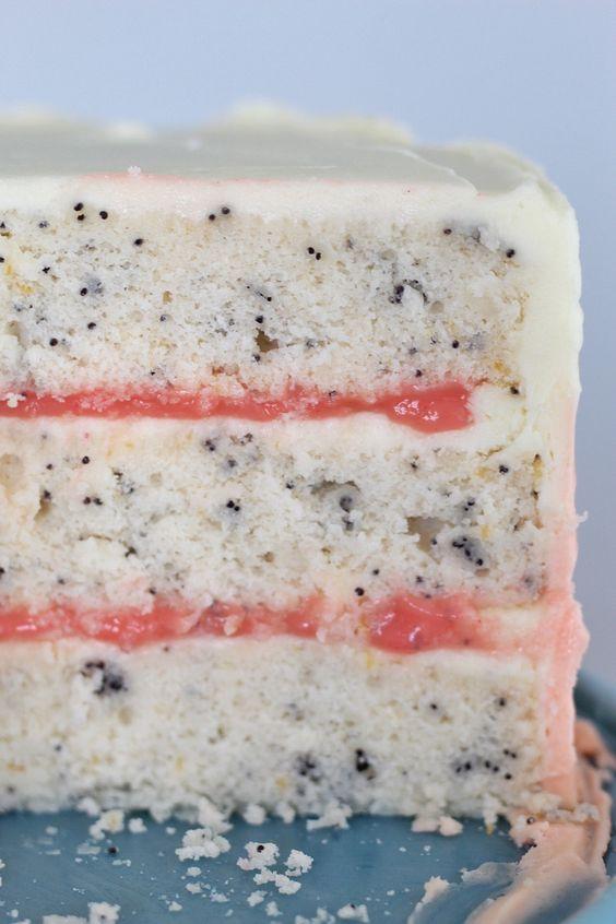 Grapefruit Poppy Seed Cake   Cake by Courtney