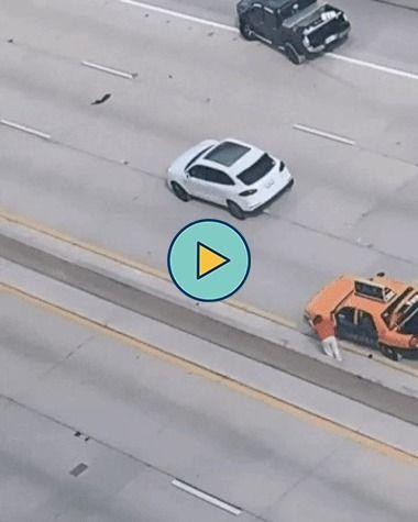 Ainda bem que esse motorista estava bem atento com o trânsito