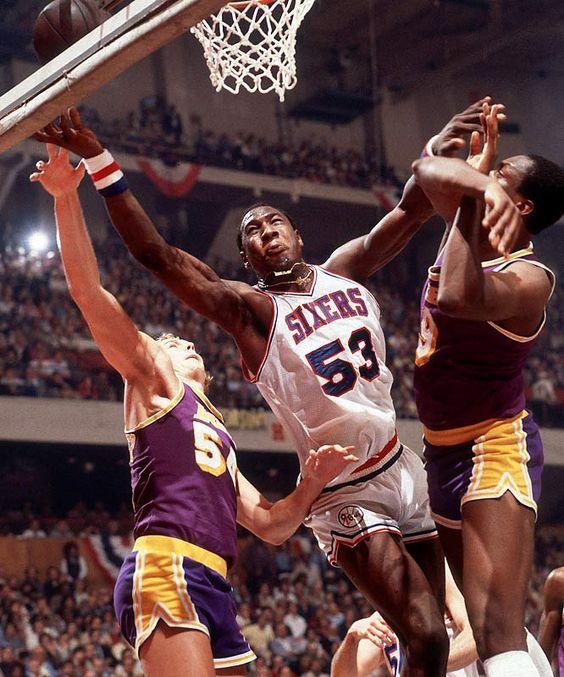 Darryl Dawkins: Basketball Players, Basketball 24 48 82, Basket 80, Photo, Dawkins Battling