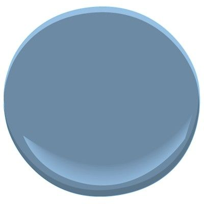 Benjamin Moore Old Blue Jeans Goes Great With 839