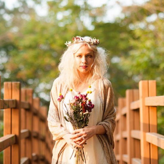 Boho Themed Fairy Tale Inspiration with a Fabulous Fall Color Palette (Photos by Roxy Hutton from City Girl Searching)