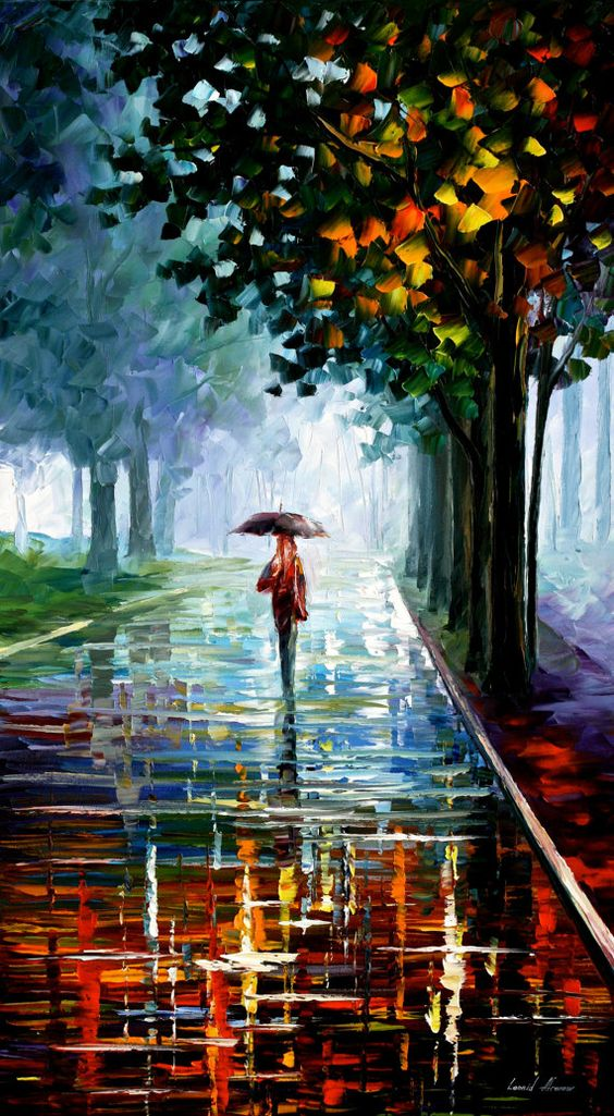 There is a quiet peace in a soft rain - a fresh and clean scent of nature. Bless God for such meaningful moments.