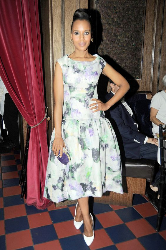 Kerry Washington in Violet - so classic!