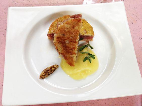 Sandwich di tonno e crema alle mele e senape | Alice.tv