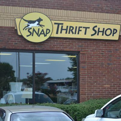 Store front at the SNAP Thrift Shop!