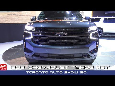 2021 Chevrolet Tahoe Rst Exterior And Interior Toronto Auto Show 2020 Youtube In 2020 Chevrolet Tahoe Chevrolet Chevy Tahoe