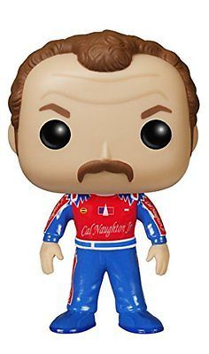 Funko POP Movies: Talladega Nights - Cal Naughton Jr. Action Figure, New