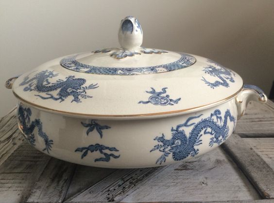 A personal favourite from my Etsy shop https://www.etsy.com/uk/listing/278380088/rare-pearl-pottery-co-ltd-hanley-blue