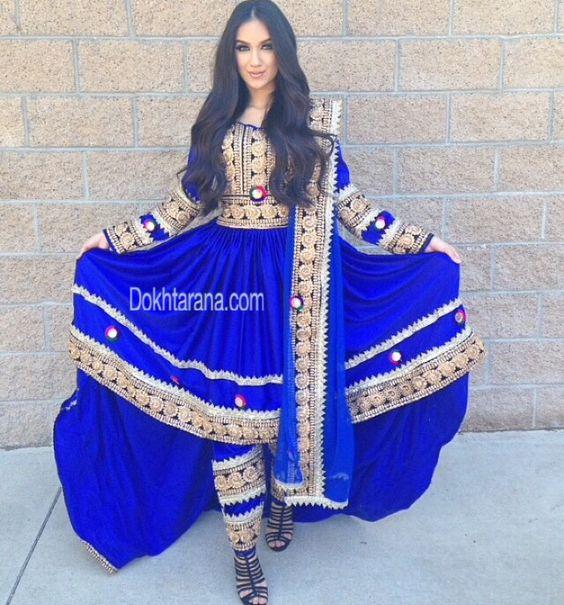 Afghan clothing.
