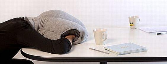 Der Schlafsack fürs Büro