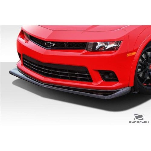 Duraflex 109806 2014 2015 Chevrolet Camaro Z28 Look Front Lip Under Air Dam Spoiler Signature Black 1 Piece As Shown Chevy Camaro Chevy Camaro Z28 Camaro