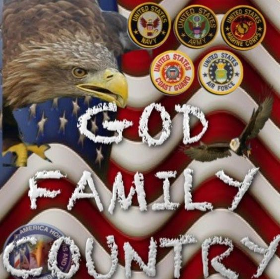 God ~ Family ~ Country