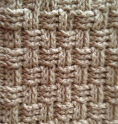 Simplistically Sassy: Basket Weave Wash Cloth Tutorial