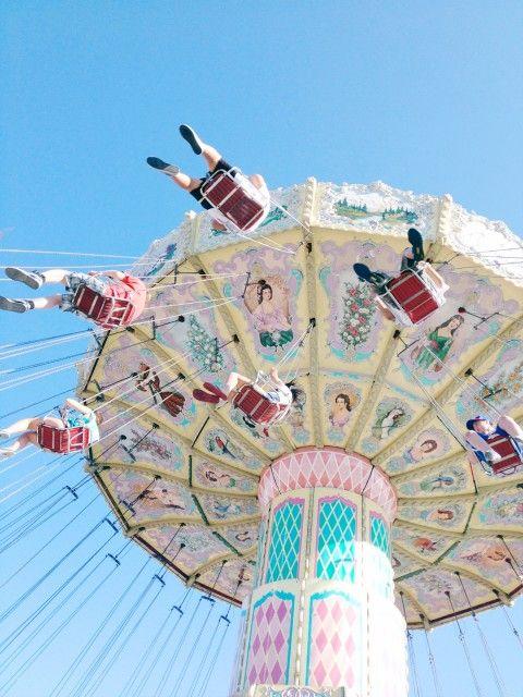 Swings at the fair!