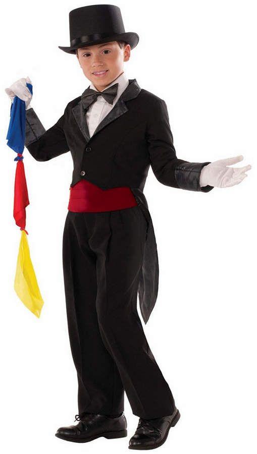Child Magician Tailcoat Magic Show Costume