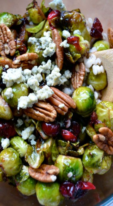 ... sides and more cranberries pecans brussels sprouts brussels sprouts
